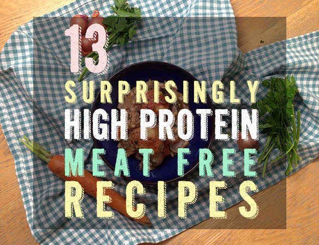 Community: 13 Surprisingly High-Protein Vegetarian Recipes