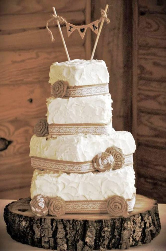 country wedding cakes rustic wedding cakes and wedding cake hessian