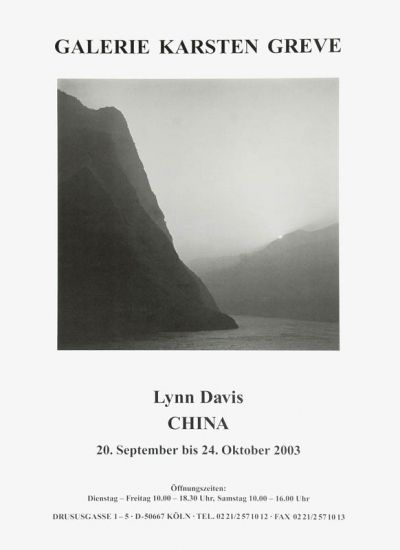 18 best posters images on pinterest exhibition poster cologne and lynn davis china china exhibition poster galerie karsten greve cologne 2003 fandeluxe Choice Image