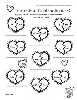 Best 25+ Contraction worksheet ideas on Pinterest