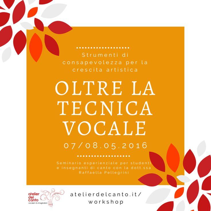 Oltre la tecnica vocale: Corpo, Mente, Emozioni   Atelierdelcanto