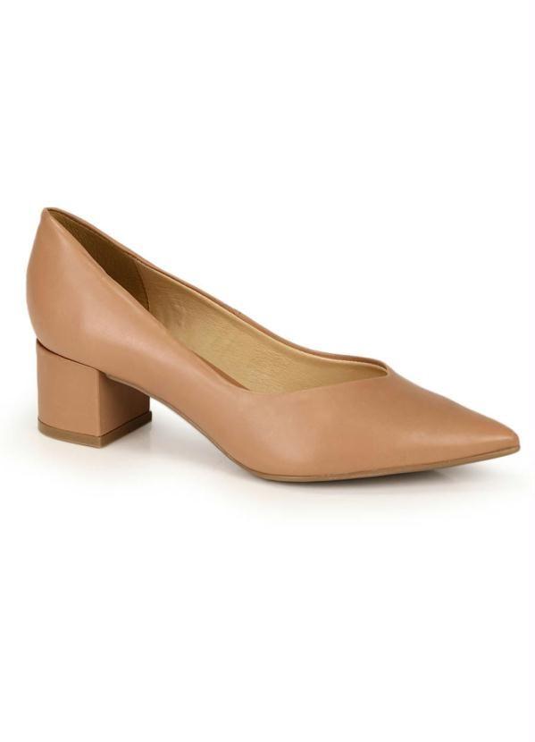 Sapato Scarpin Bottero Nude   – Products