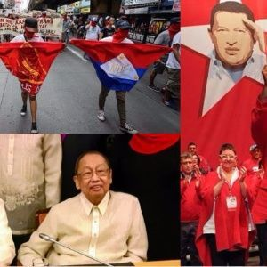 The Philippines revolutionary united front, NDFP, puts the emphasis on solidarity with the Venezuelan people