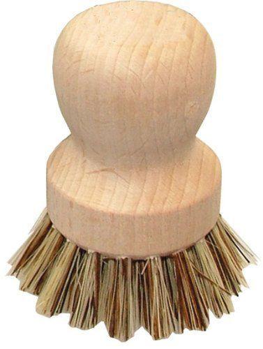 Eddingtons Valet Pot Brush - Scrubbing Brush - Oven Brush - Strong Wooden Brush    eBay