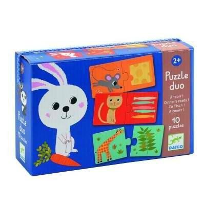 boutique jeux de société - pontivy - morbihan - ludis factory - puzzle duo à table