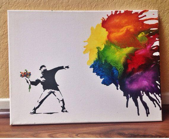 Art de colorie  L'amour est dans l'Air  fondu de par CrayonGogh