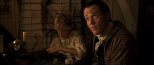Max Pirkis & Paul Bettany in Master & Commander