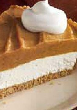 Creamy Two-Layer Pumpkin Pie – Super cool. Super whipped.