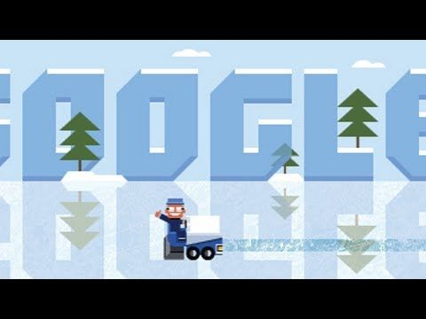 Interactive Google Doodle honoring Frank Zamboni - a U.S. Inventor. His most famous invention is the ice resurfacer./ 01/16/2013    http://youtu.be/gblzLsDPLkc