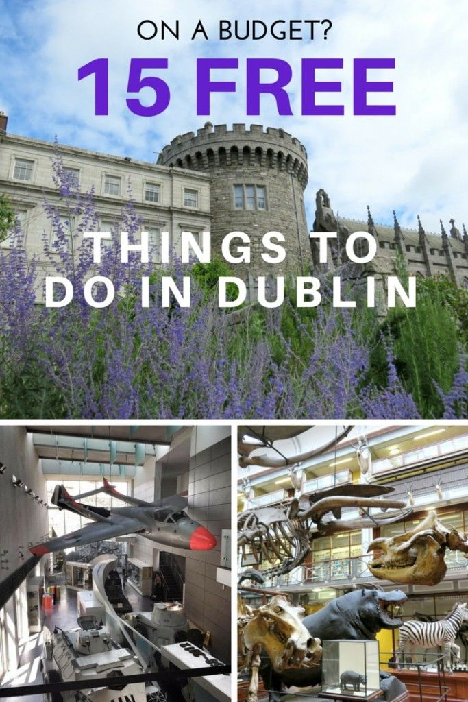 On a budget? Discover 15 FREE things to do while visiting #Dublin, #Ireland