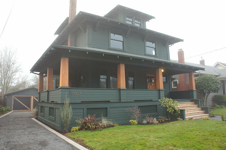 100 year old craftsman in portland oregon see interior for Portland craftsman homes