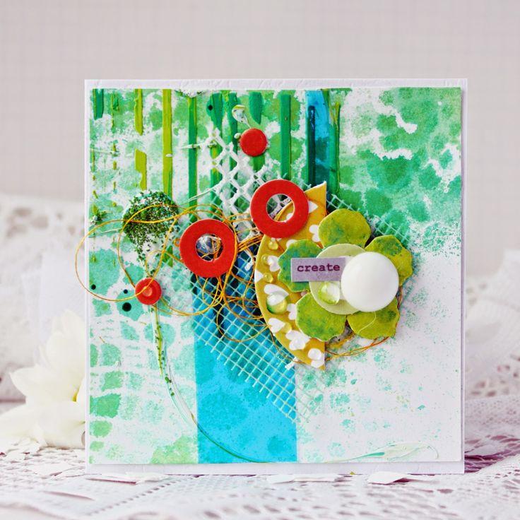 бусины мастер класс по декорированию открыток круг фатина пополам