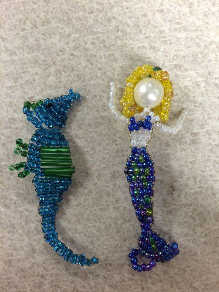 Meschael's ocean beads