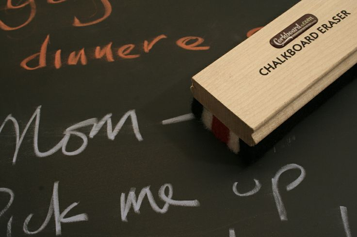 a wooden felt eraser ships with every order...
