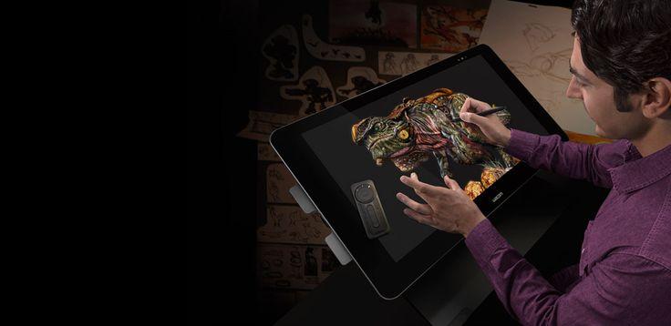 #Wacom annonce 2 tablettes-écrans professionnelles de 13 et 27 pouces | Jean-Marie Gall.com