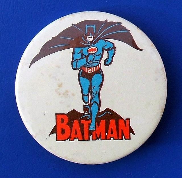 Batman - merchandise badge by Lone Star (1966) by RETRO STU, via Flickr