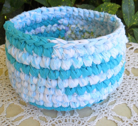17 Best Images About Rag Crochet On Pinterest