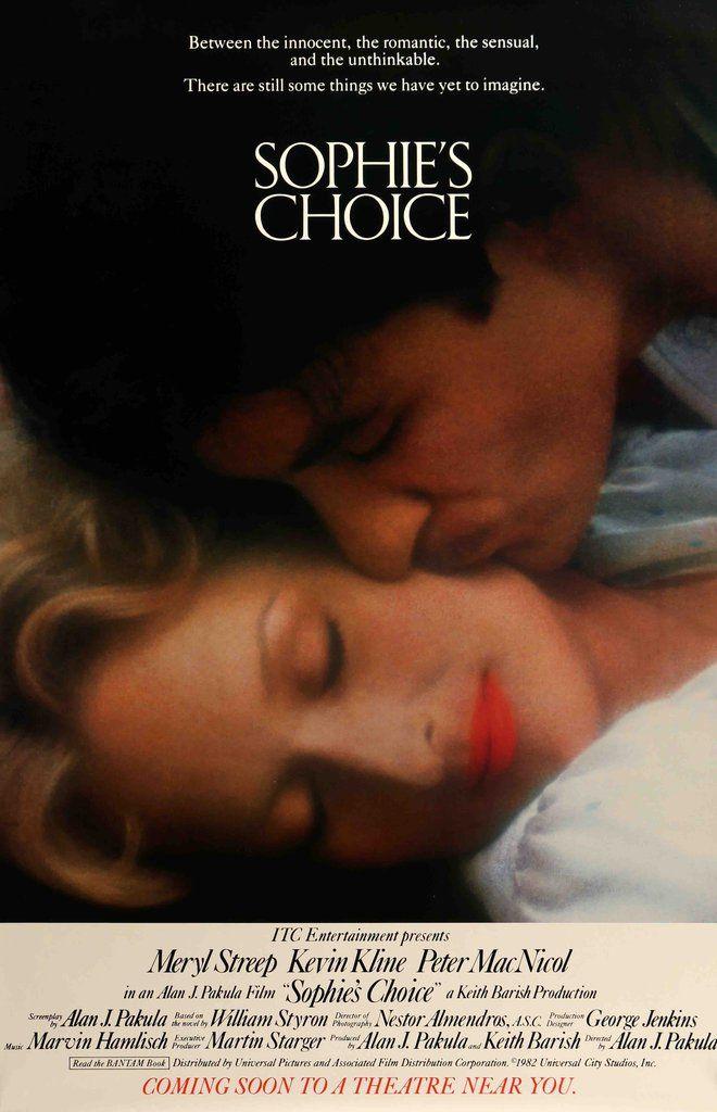 Sophie's Choice (1982) Original One Sheet Movie Poster