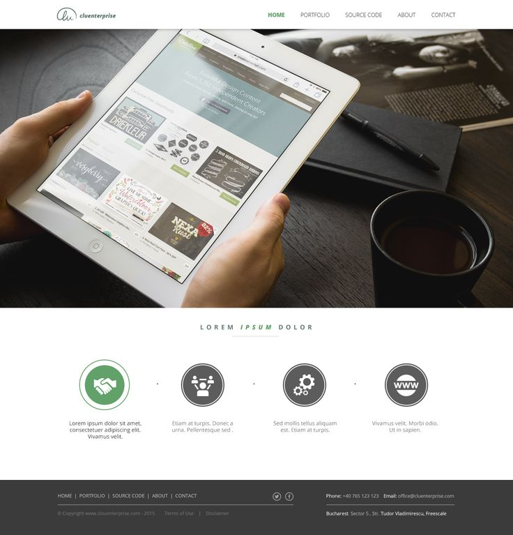 Cluenterprise - business to business webdesign
