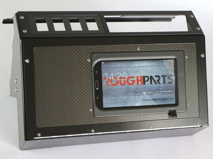 Armaturentafelerweiterung klein - Multimedia - Armaturentafel-Erweiterungen - Innenausstattung - Online-Shop - Rough Parts