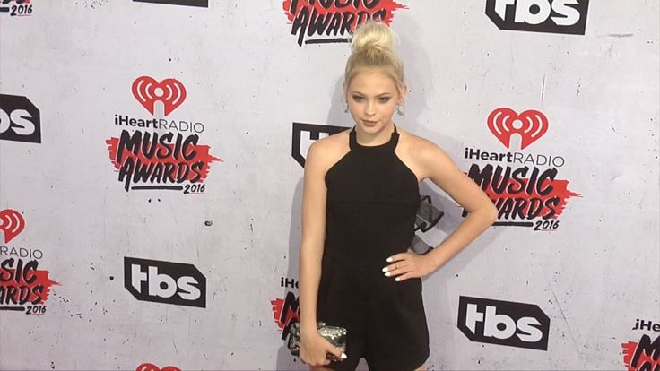 Jordyn Jones 2016 iHeartRadio Music Awards Red Carpet