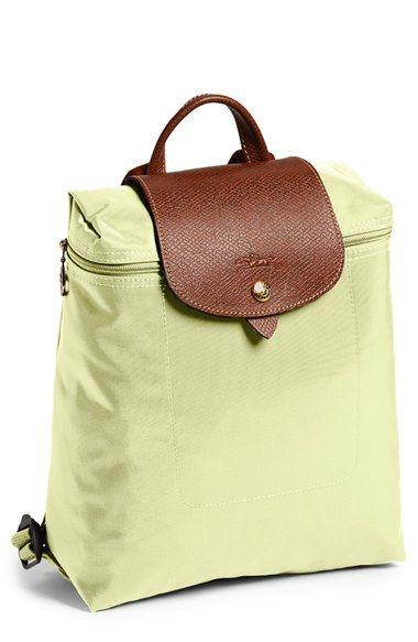 Longchamp Le Pliage Backpack $75 #LavaHot http://www.lavahotdeals.com/us/cheap/longchamp-le-pliage-backpack-75/103477