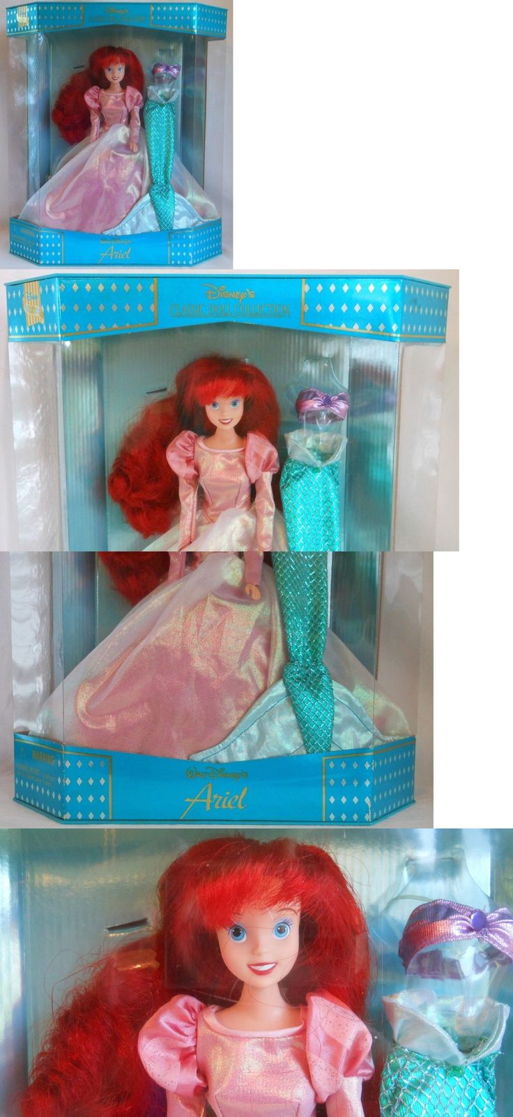 Little Mermaid 44036: Walt Disney Exclusive Classic Doll Collection Ariel The Little Mermaid Doll -> BUY IT NOW ONLY: $199.99 on eBay!