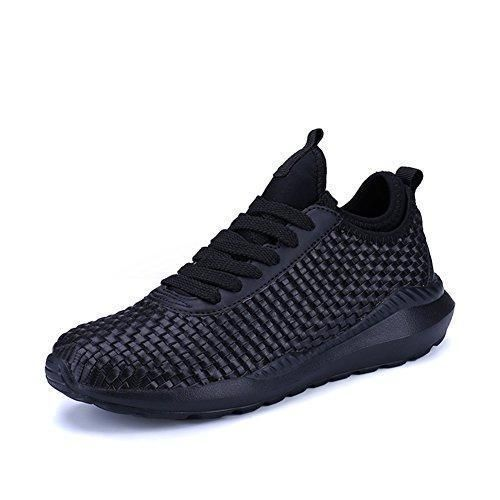 Oferta: 29.99€. Comprar Ofertas de UBFen Zapatillas de Running para Hombre Mujer Trenzado Zapatos para Correr en Montaña y Asfalto Aire Libre y Deportes Fitness barato. ¡Mira las ofertas!