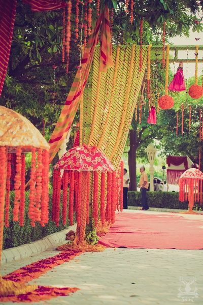 Its a rajasthani carnival! Mehendi #Decor #indianWeddings | curated by #WittyVows the ultimate guide for the Indian bride | www.wittyvows.com