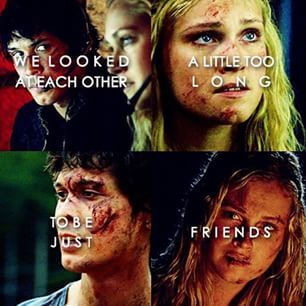 Clarke Griffin and Bellamy Blake || Bellarke || The 100 || Eliza Jane Taylor and Bob Morley