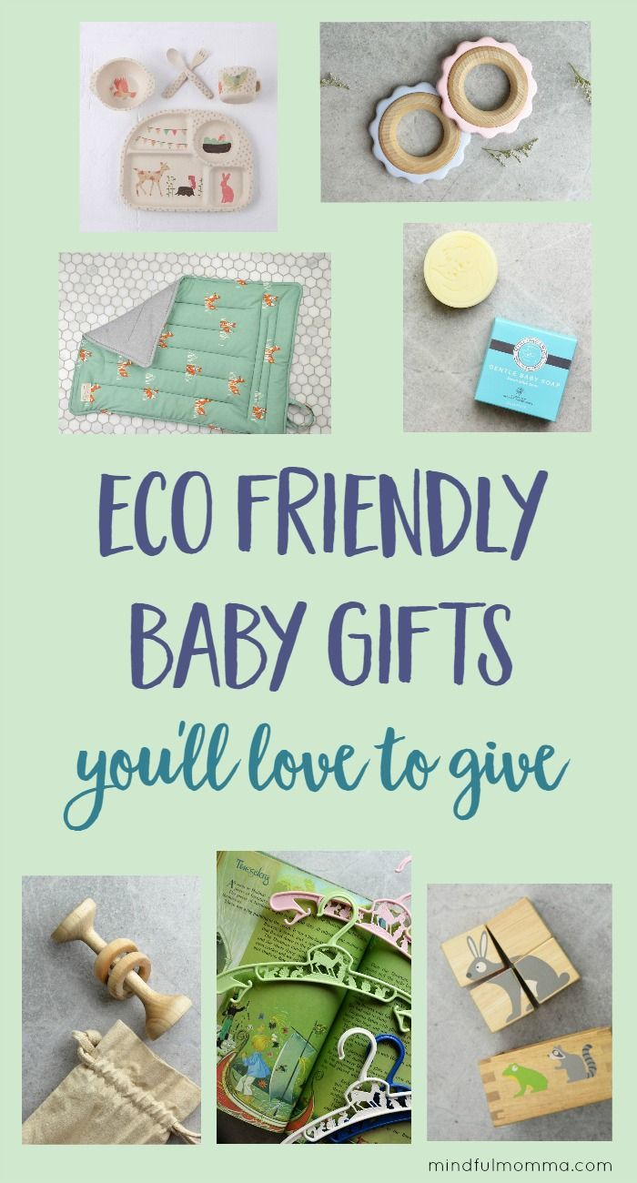 Eco friendly baby gifts made from safe, sustainable materials that are unique, high quality and make wonderful gifts for a baby shower. | baby registry | organic and natural products | natural baby