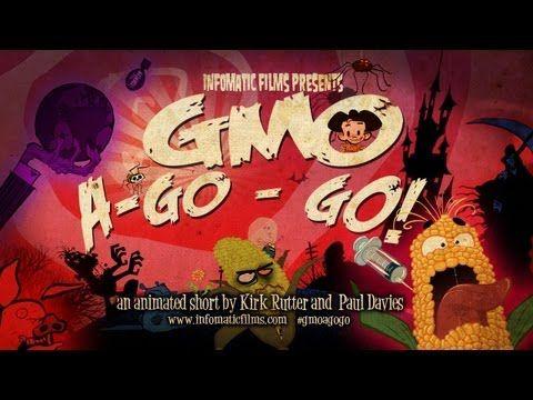 MUST WATCH! - informational cartoon. GMO A Go Go! - YouTube