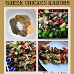 Greek chicken kabobs, Spice mixes and Chicken kabobs on Pinterest