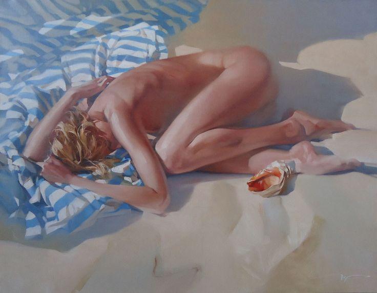 Aleksey Tchernigin / 1975 / Russian impressionist :Xolst - живопись в стиле ню