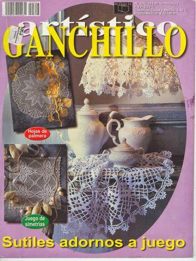 Ganchillo artistico n 324 - Mary. XXII - Álbumes web de Picasa