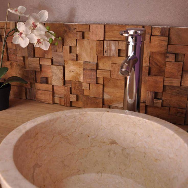420 best Salle de bain parentale images on Pinterest Bathroom - teck salle de bain sol