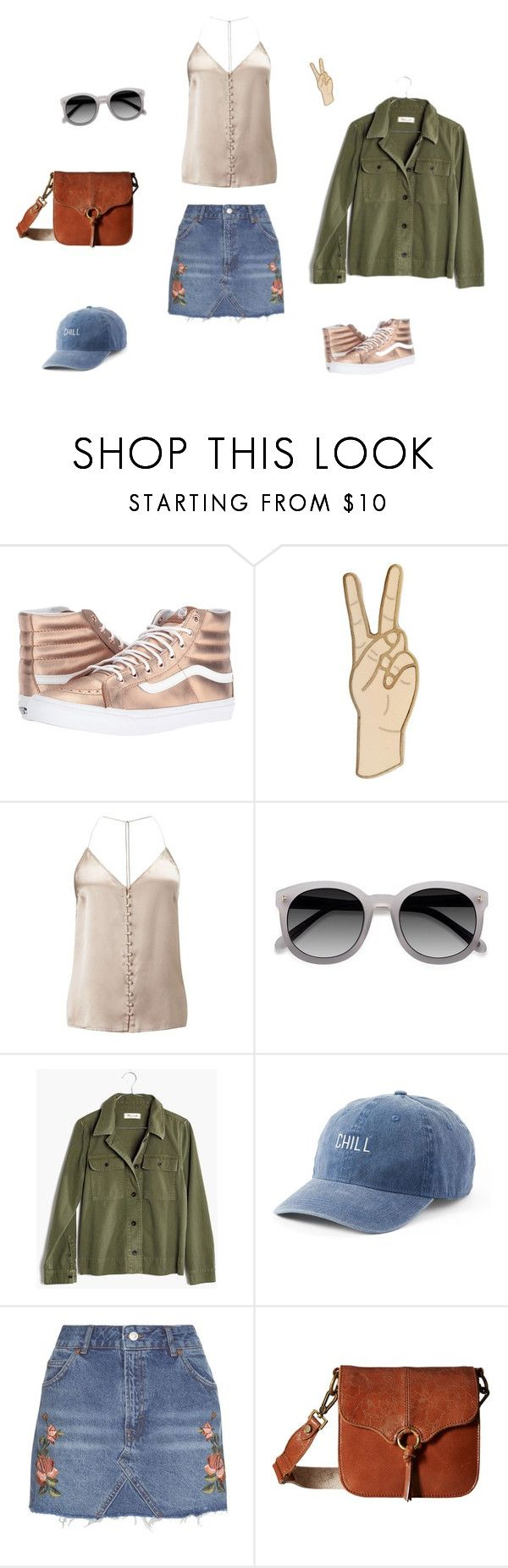 """SR Festival Look 2"" by ljaeckel on Polyvore featuring Vans, Lucky Brand, Miss Selfridge, Ace, Madewell, SO, Topshop and Sakroots"