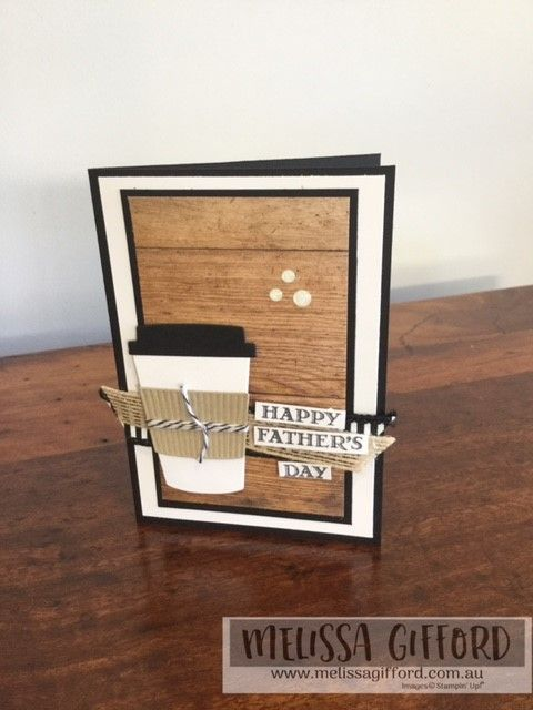 Melissa Gifford | Happy Father's Day Dad! | Stampin' Up!