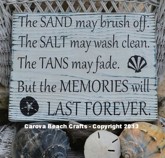Salt+May+Brush+Off+Tans+May+Fade++Beach+Decor+by+CarovaBeachCrafts,+$35.00