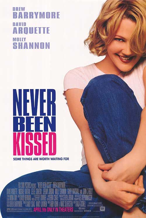 Never Been Kissed - why is there no movie poster featuring Michael Vartan?