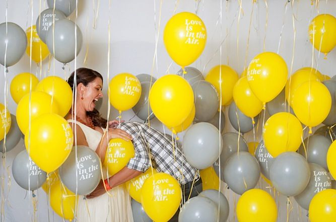 Unique Yellow And Grey Modern Wedding In Palm Springs   Bridal Musings   A Chic and Unique Wedding Blog