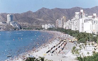 playa de RODADERO COLOMBIA