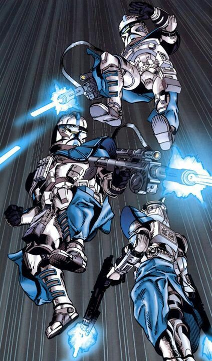 ARC troopers (Advanced Recon Clone)