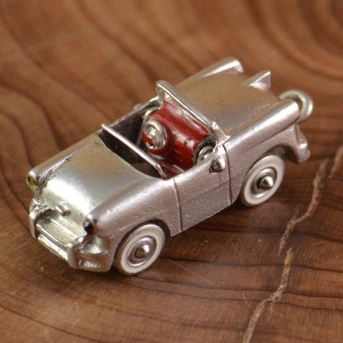 Vintage Sterling Silver Car Charm