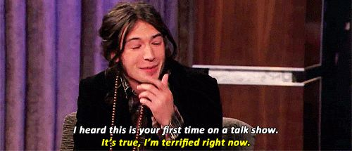 gifs The Perks Of Being A Wallflower jimmy kimmel Ezra Miller adorable human being