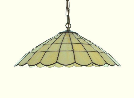 Lámpara colgante. Lámpara de techo. Lámpara por AmberGlassArt