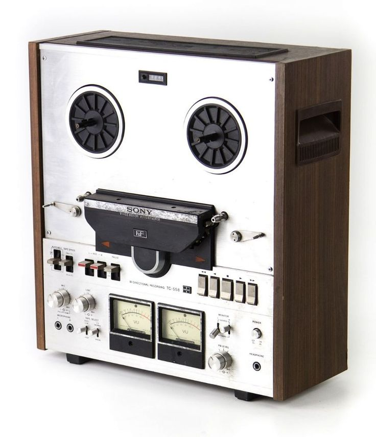 Sony Tc 558 Auto Reverse Open Reel Stereo Tape Player