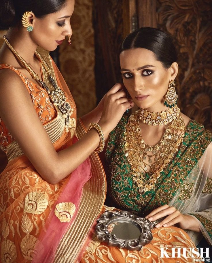 Aren't these jewels just everything!? Jewellery Red Dot Jewels Makeup: Gini Bhogal Hair: Mukhtar Rehman Outfits: Onitaa - The Essence of Asia Couture