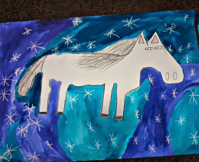 Tvoříme s dětmi  ☺: Bílý kůň- svátek Sv. Martina
