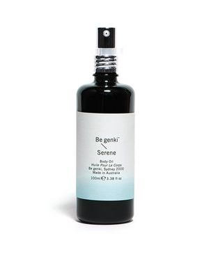 BE GENKI BODY OILS $38 Luxurious organic body oils infused with healing essential oils. Similar to the essential oils range, you just can't go wrong!